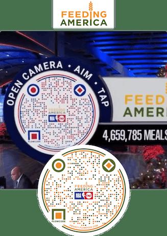 Feeding America Flowcode